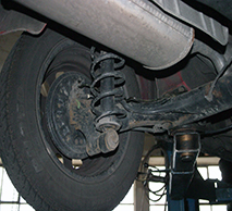 Alvers Auto Repair Struts and Shocks